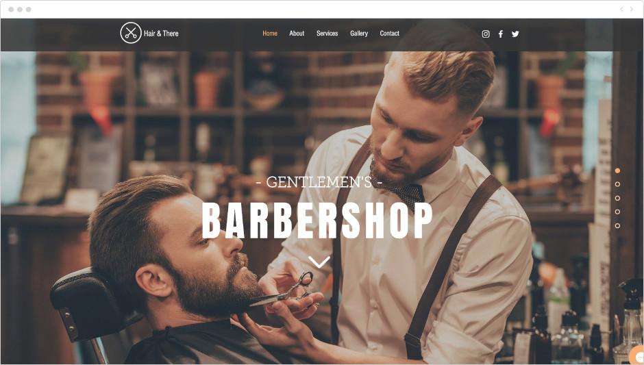 Template Barbearia