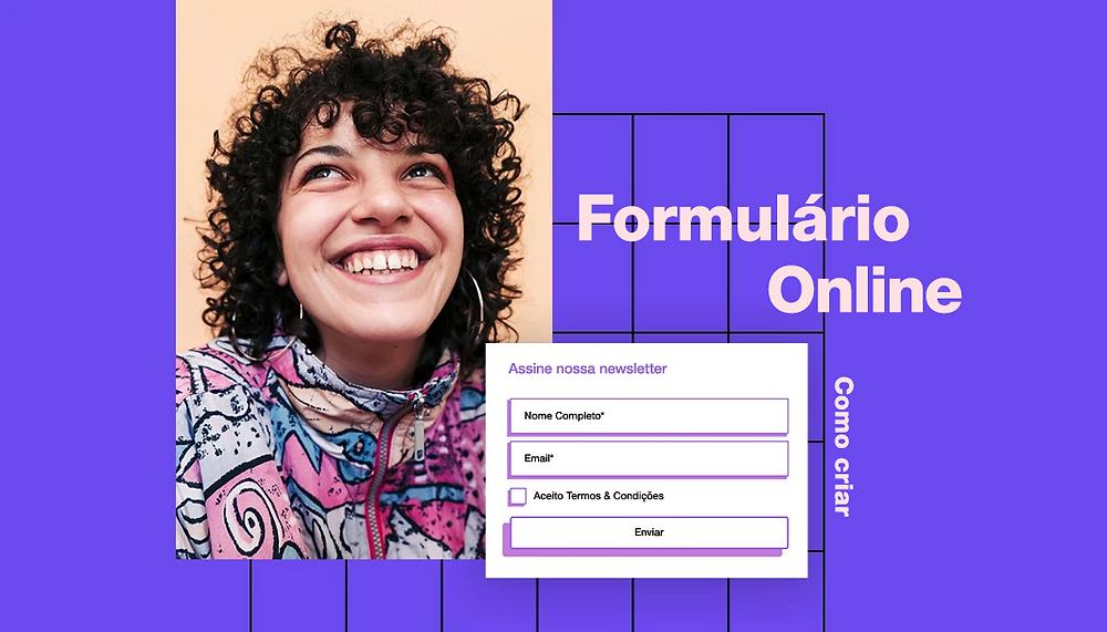 Como Criar Um Formulário Online Usando Wix