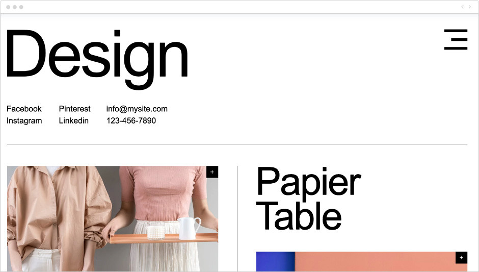 Template Estúdio de Design Industrial