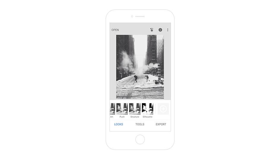 Melhores Aplicativos para Instagram para Sua Marca: Snapseed