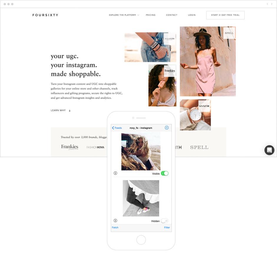 Melhores Aplicativos para Instagram para Sua Marca: Foursixty