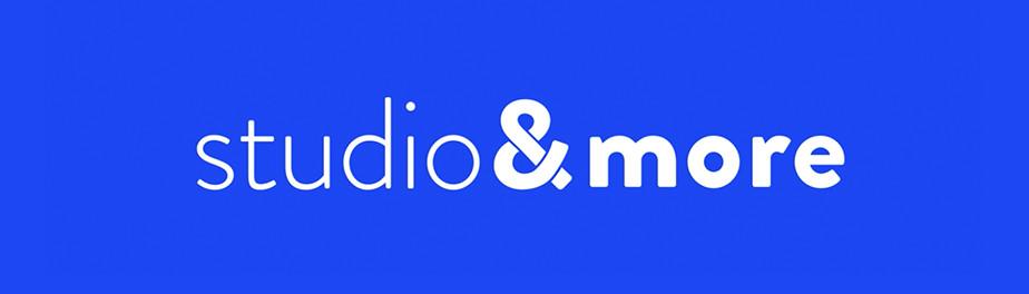 Logo de Studio&More, estúdio de design e usuário Wix