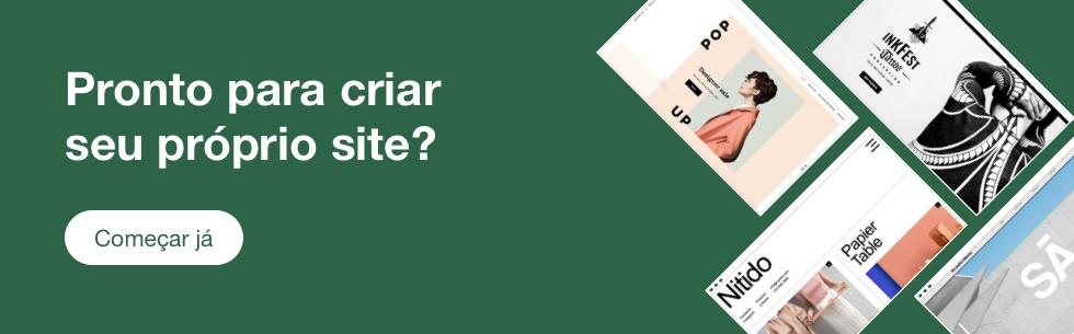 Crie o seu site