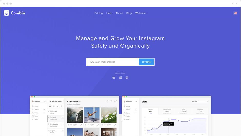 Melhores Aplicativos para Instagram para Sua Marca: Combin