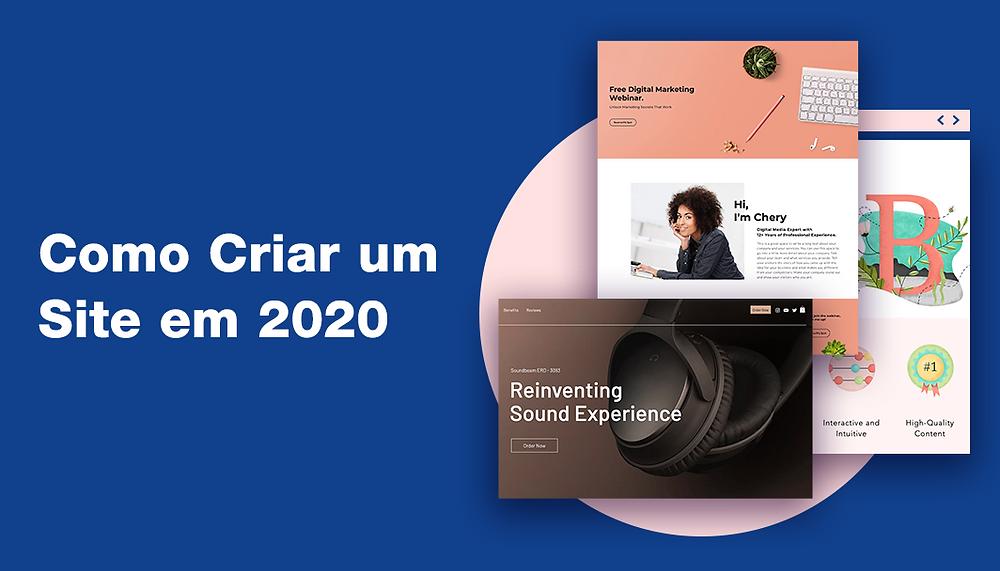 Guia Passo-a-Passo: Como Criar um Site em 2020