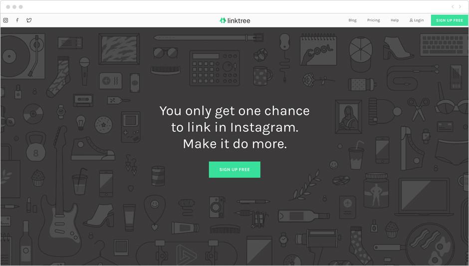 Melhores Aplicativos para Instagram para Sua Marca: Linktree