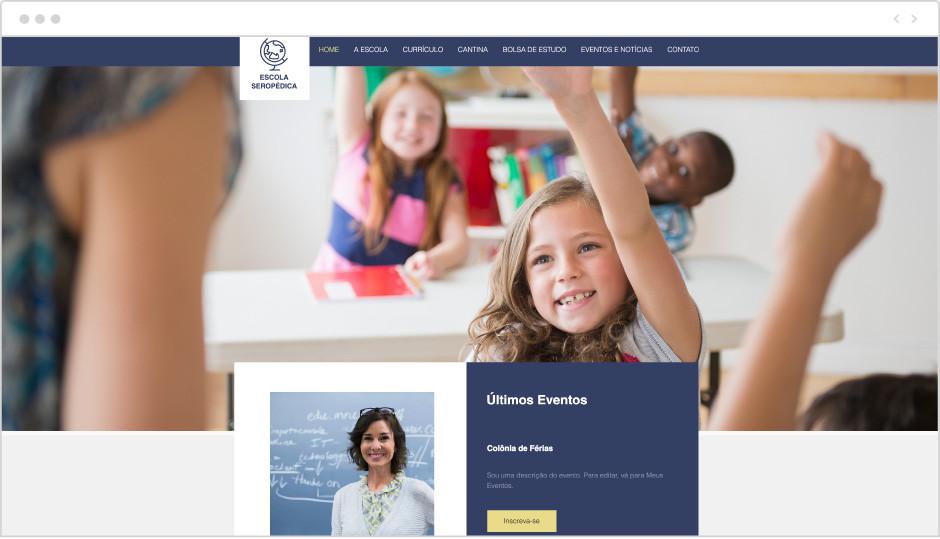 Template Escola Primária