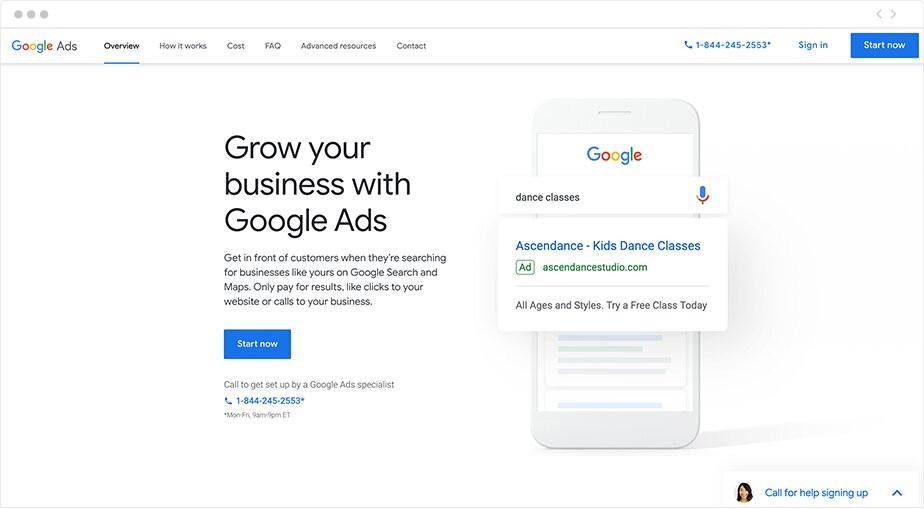 Integrações de Marketing para Sites Wix: Google Ads