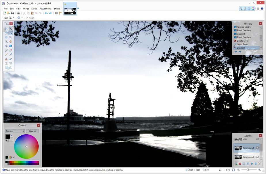 Melhores Programas de Edição de Fotos Gratuitos: Paint.NET