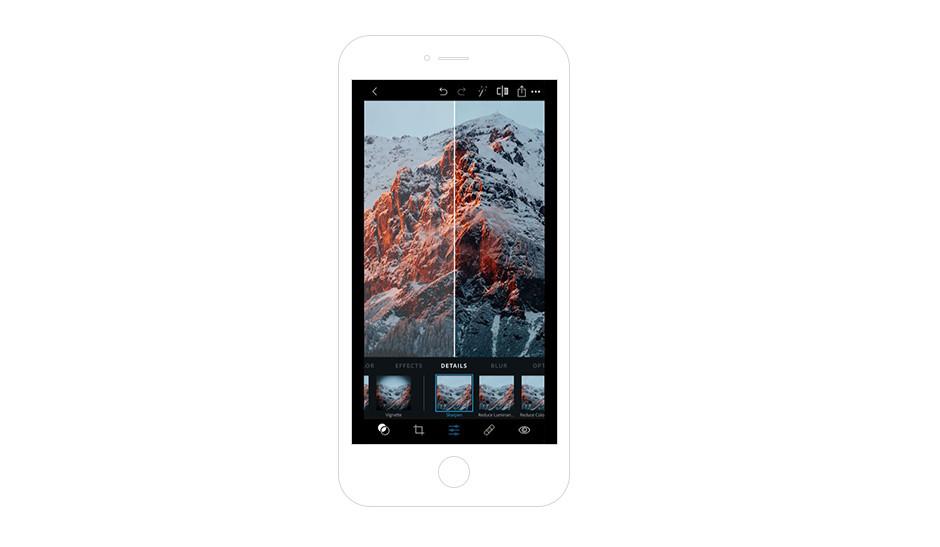 Melhores Aplicativos para Instagram para Sua Marca: Adobe Photoshop Express