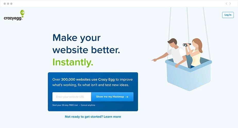 Integrações de Marketing para Sites Wix: Crazy Egg