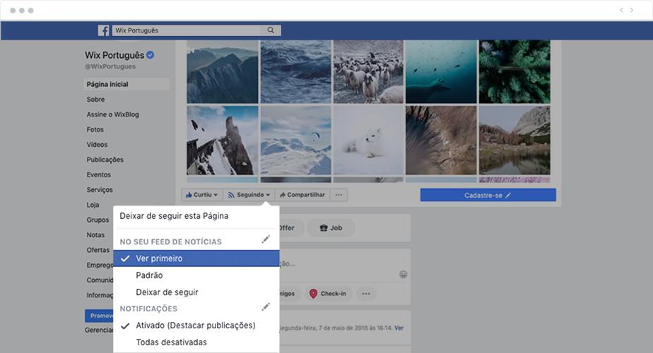 Como personalizar o Feed de Notícias do Facebook