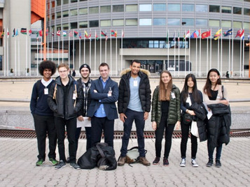 Trip to United Nations, Vienna