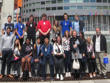 Visit to the United Nations in Vienna