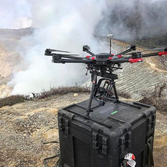 Flying drones for Apple's _Shot on iPhon