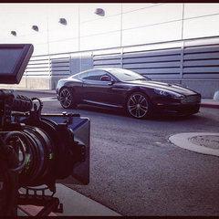 Always fun to shoot an Aston Martin DBS
