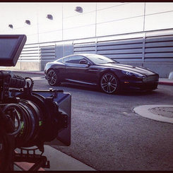 Always fun to shoot an Aston Martin DBS