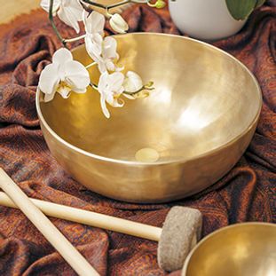 Singing Bowl, Chanting Circle Event, Andrea Rudolph