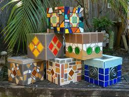 Mosaic Art PLANTER!  June CLASS is FULL