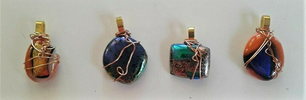 Glass Jewelry Pendants!  Saturday Nov 13