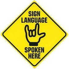 ASL for Children 6/14-7/7 @4:30-5:30 pm