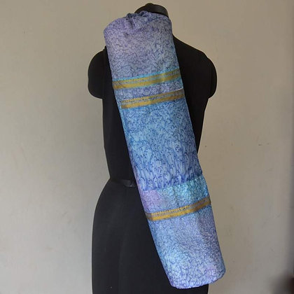 Yoga Bag with Recycled Sari Silk