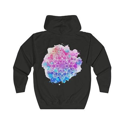 Mandala Unisex Full Zip Hoodie