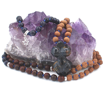 Goddess of Balance Energy Knotted Mala