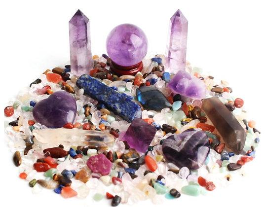 Amethyst Crystal Mix