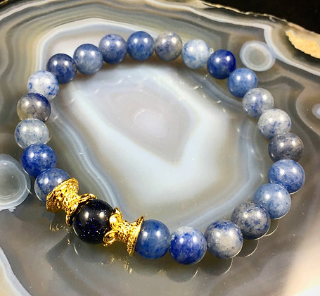Lotus Balanced Wisdom Stretch Bracelet