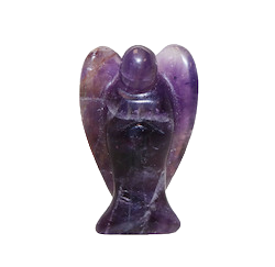 Chevron Amethyst Angel