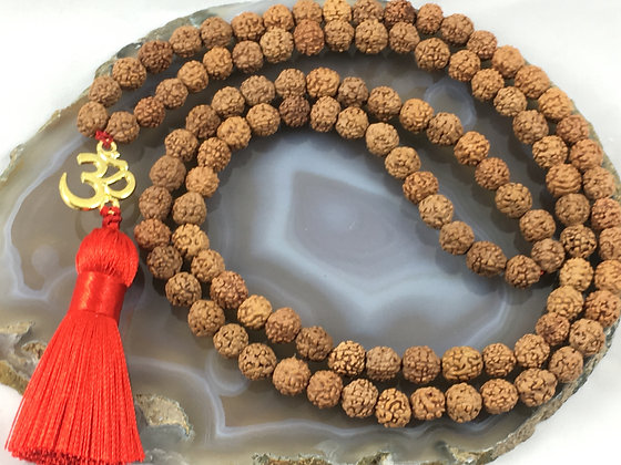 Peace & Happiness Strung Mala