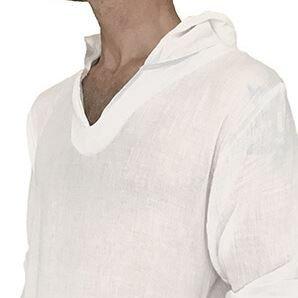 100% Cotton Hooded Shirt