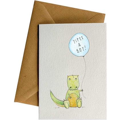 Baby Boy - Card