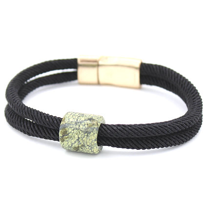 Dragon Vein Braided Leather Bracelet
