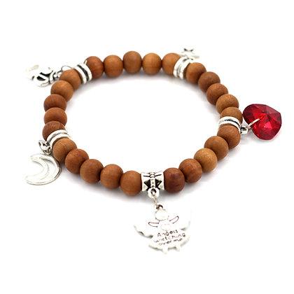 Sandalwood Stretch Bracelet