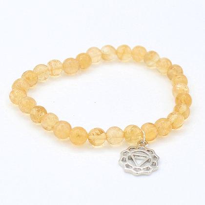 Citrine - Sacral Chakra Bracelet