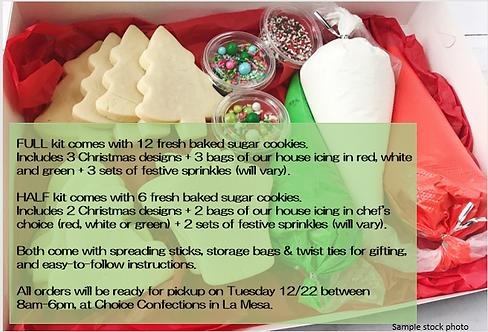 DIY Christmas Cookie Kits