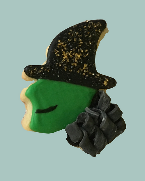 Witch Sugar Cookies