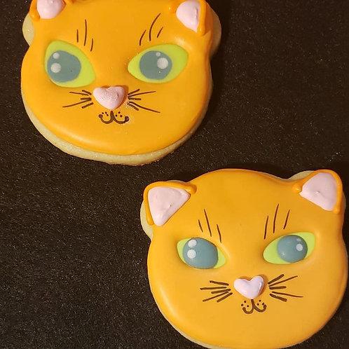 Cat Sugar Cookies
