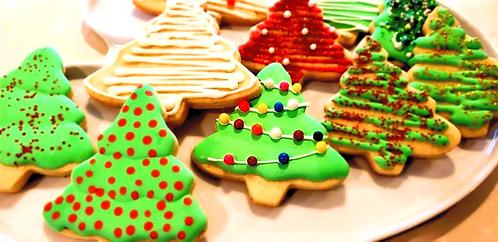 Oh Christmas Tree - Sugar Cookies