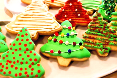 Oh Christmas Tree - Sugar Cookies