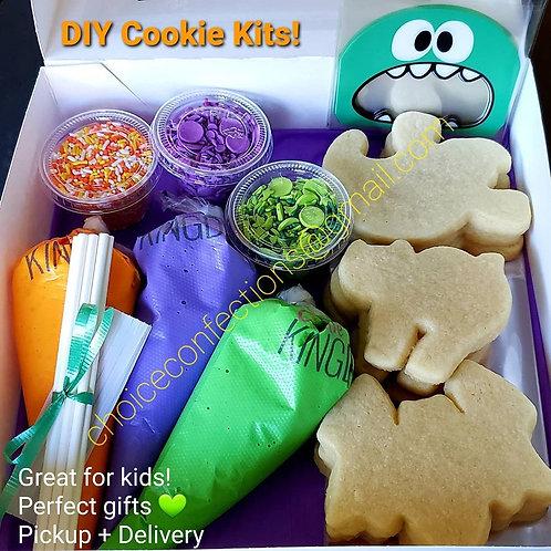 DIY Halloween Cookie Kits