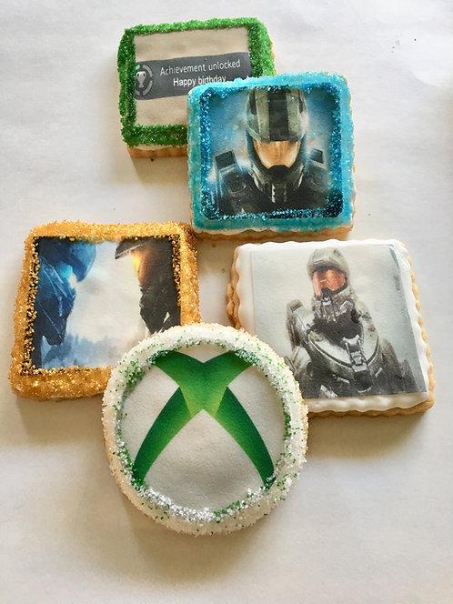 Halo Printed Sugar Cookies