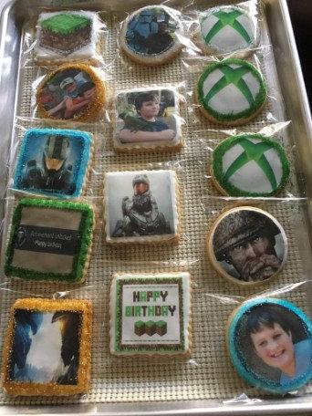 Edible Photo Cookies