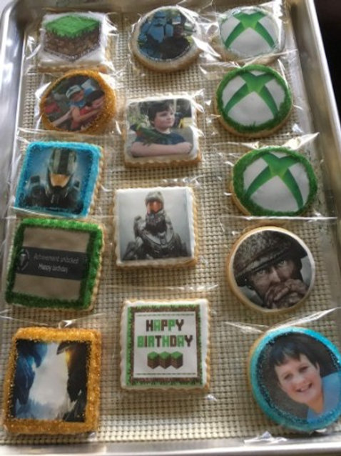Edible Photo Cookies