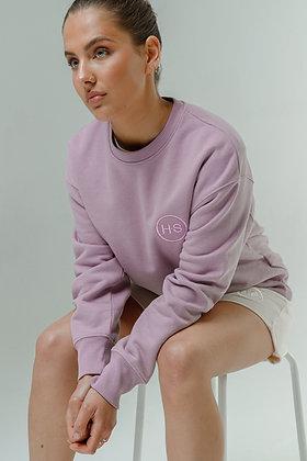 H.S Parma Violet Organic Cotton Sweater