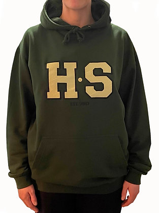 H.S Varsity Embroidered Logo Hoodie