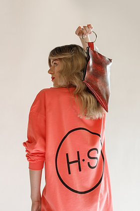 H.S Coral Logo T-Shirt