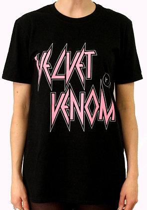 H.S Black Velvet Venom T-Shirt